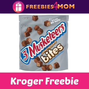 Free 3 Musketeers Bites at Kroger
