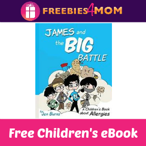 Free Children's eBook: James and the Big Battle