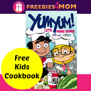 Free Kids Cookbook from Kohl's