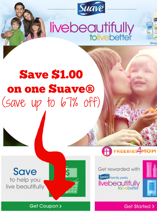 $1.00 off one Suave® Printable Coupon