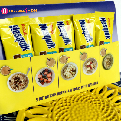 Free Sample of Nestle Nesquick (5 servings)
