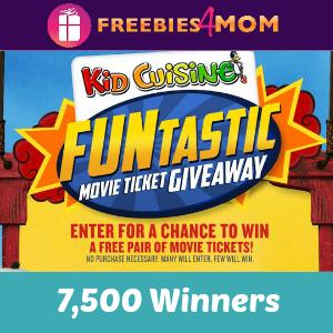 Funtastic Movie Ticket Giveaway 7,500 winners