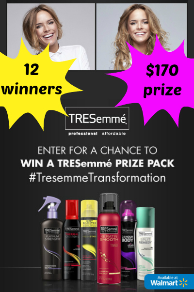 Share Your Hair Transformation, Win TRESemmé
