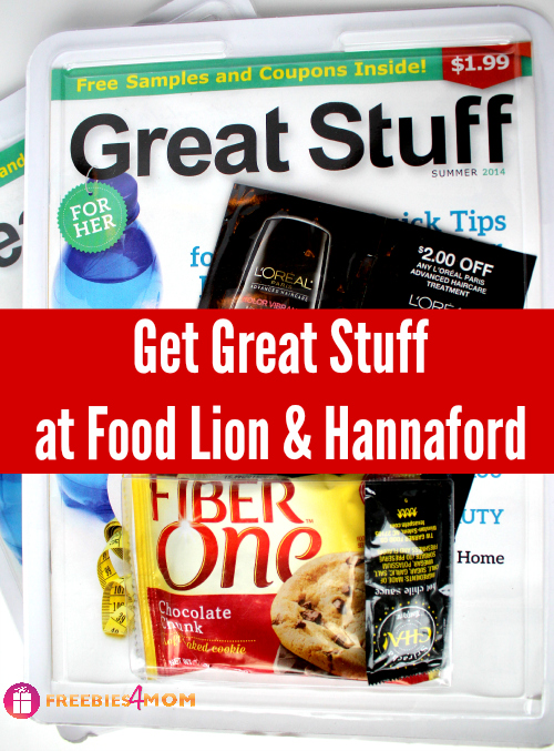 Great Stuff: Free Samples and Coupons Inside!