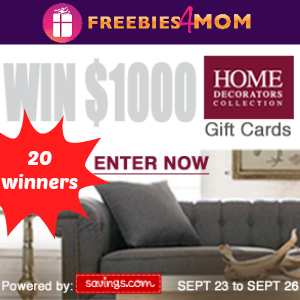Win a $50 Home Decorators Collection Gift Card