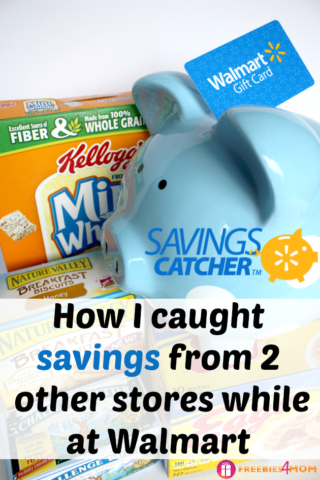 How I caught savings from 2 others stores while at Walmart #SavingsCatcher