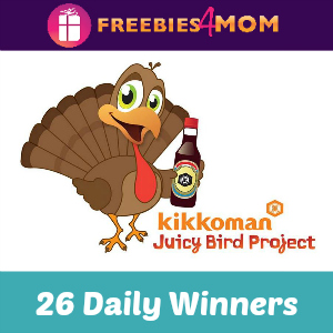Sweeps Kikkoman Juicy Bird (26 Daily Winners)