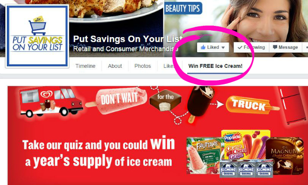 Food Lion Ice Cream Sweepstakes