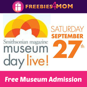 Free Museum Admission on Sept. 27