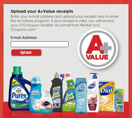 A+ Values Henkel Coupons