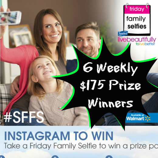 Suave Friday Family Selfie Sweepstakes