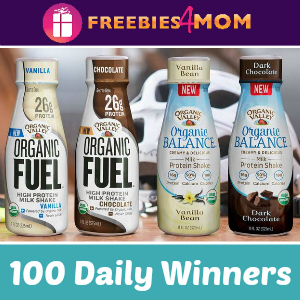 Sweeps Organic Valley Milk Protein Shake