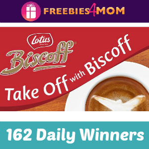 Sweeps Take Off With Biscoff (162 Daily Winners)
