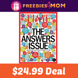 Magazine Deal: Time $24.99