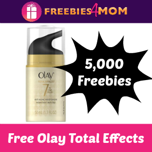 5,000 Free Olay Total Effects *enter thru 9/26*