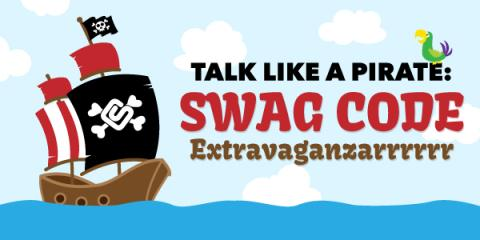Swag Code Extravaganza Friday: Talk Like A Pirate Day
