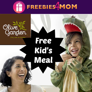 Free Kid's Meal at Olive Garden Oct. 28-31