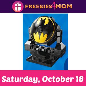 Free Bricktober Build at Toys R Us Oct. 18