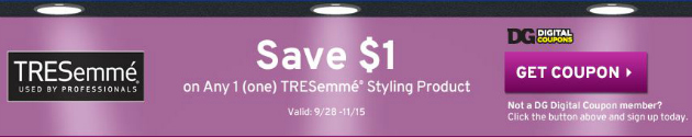 TRESemme Coupon