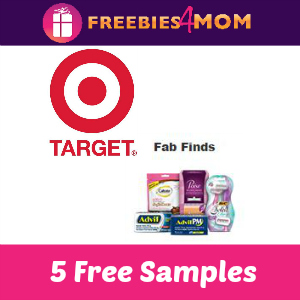 Open for 5 Free Samples from Target