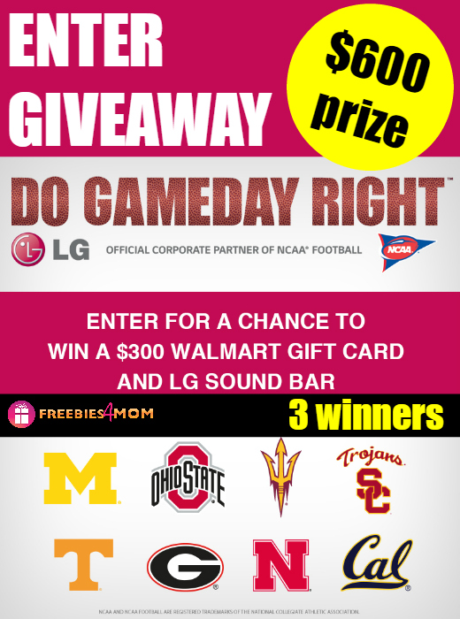 Do Gameday Right Giveaway