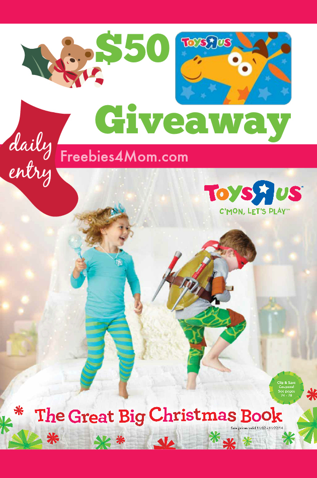 """$50 Toys""""R""""Us Giveaway ~ The Great Big Christmas Book"""