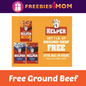 Free Pound of Ground Beef with Purchase