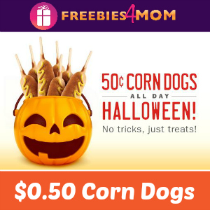 Sonic $0.50 Corn Dogs Friday