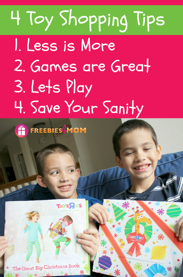 4 Toy Shopping Tips