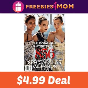 Magazine Deal: Vogue $4.99 (72% Off)