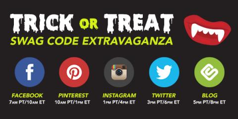 Trick or Treat Swag Code Extravaganza