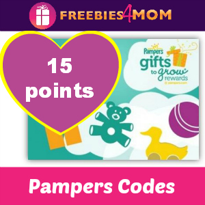 Add 15 Pampers Gifts to Grow Points