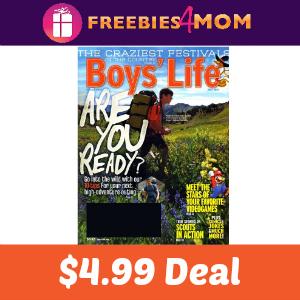 Magazine Deal: Boy's Life $4.99