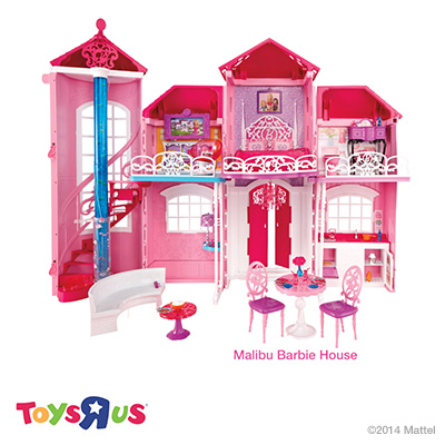 "Malibu Barbie House at Toys""R""Us"