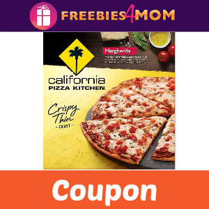 Coupon: $1 off Frozen California Pizza Kitchen