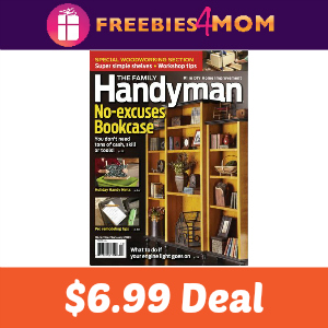 Magazine Deal: Family Handyman $6.99