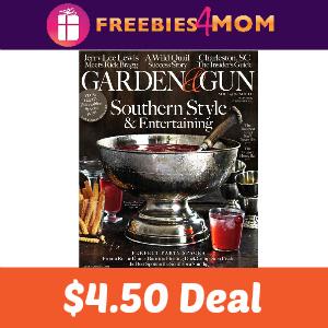 Magazine Deal: Garden & Gun $4.50