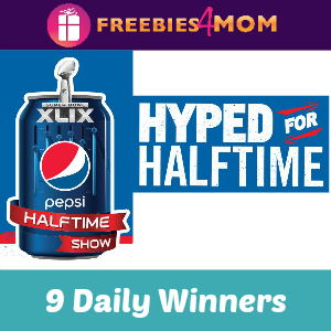 Sweeps Pepsi Hyped for NFL Halftime