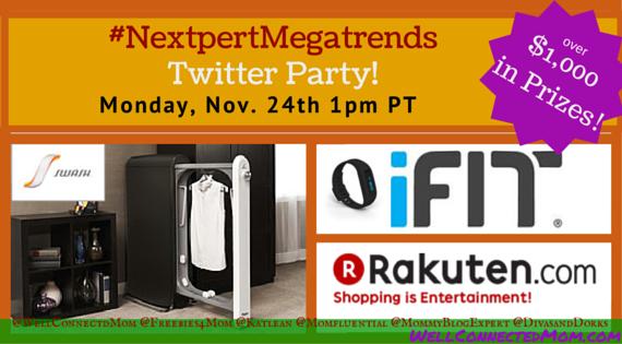 #NextpertMegatrends Twitter Party