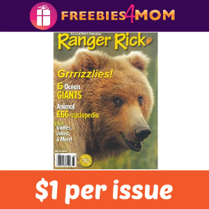 Magazine Deal: Ranger Rick ($1 per issue)