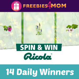 Sweeps Ricola Spin & Win (14 Daily Winners)