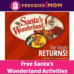Free Santa's Wonderland at Bass Pro Shops