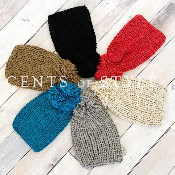 Cents of Style Knit Slouchy Beanie
