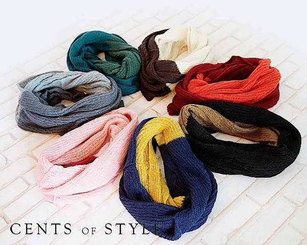 Free Bangle Bracelets with $9.95 Infinity Scarf