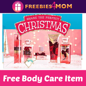 Free Bath & Body Works Body Care Item