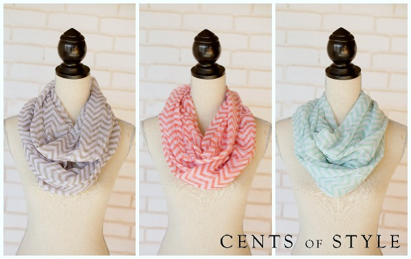 Cents of Style Chevron Scarves