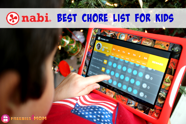 Nabi DreamTab HD8 Best Chore Chart for Kids and Parents