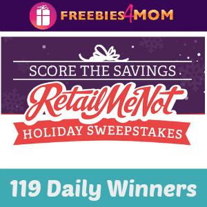 Sweeps RetailMeNot Score the Savings