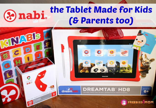 Nabi DreamTab the tablet made for kids and parents too