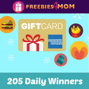 Sweeps McDonald's 21 Days of Gift-Fest